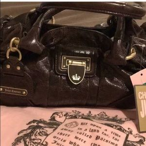 Authentic Leather Juicy Couture Purse GUC!